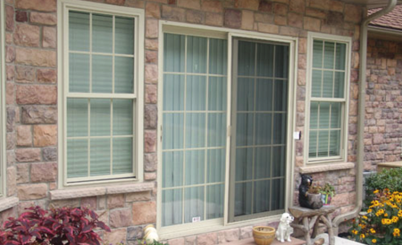 7D Vinyl Patio Doors Image