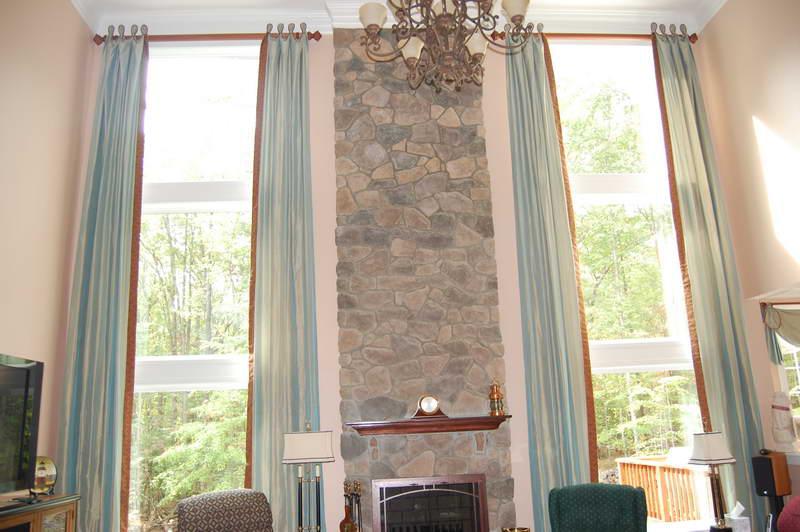 Curtains Ideas attach curtain rod to ceiling : DECOR IDEAS