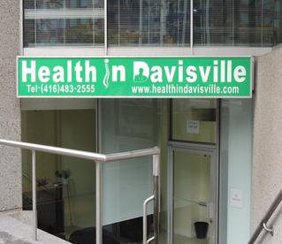 Health In Davisville, Toronto, Yonge, Health Clinic