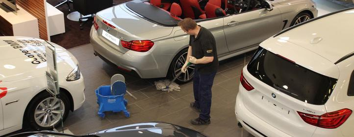 Commercial Cleaning For Car Dealers