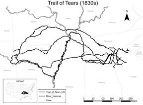 Lesson Plans for Trail of Tears Module