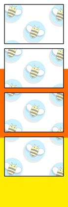 Bumblebee Booths Photo Strip sample #49