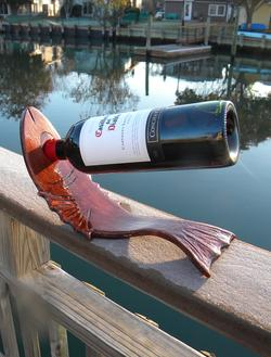 Easy DIY Nautical Wood bending wine stand. www.DIYeasycrafts.com