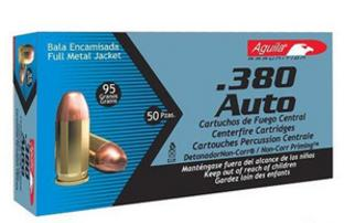.38 Caliber Auto bullets full metal jacket