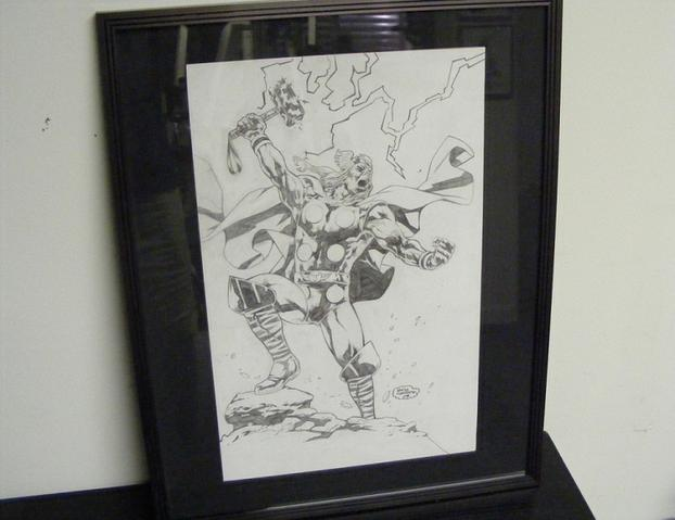 Framing Original Art