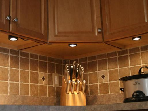 Under Cabinet Lighting Installation Services and Cost in Lincoln NE |Lincoln Handyman Services