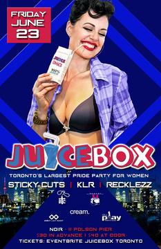 Juicebox GirlPlay Toronto Pride 2017 Noir at Rebel