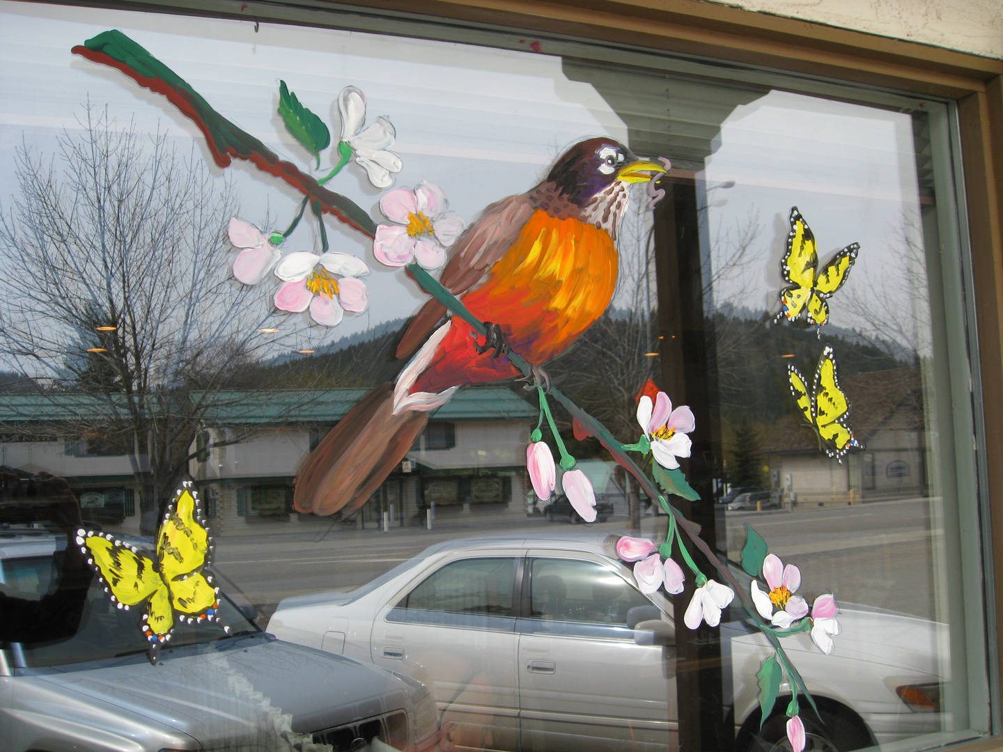 Spring window painting - I Paint Windows In Leavenworth Wa And Surrounding Areas Only I Generally Paint 3 Times A Year For Spring Fall And Winter Holidays But Am Available For
