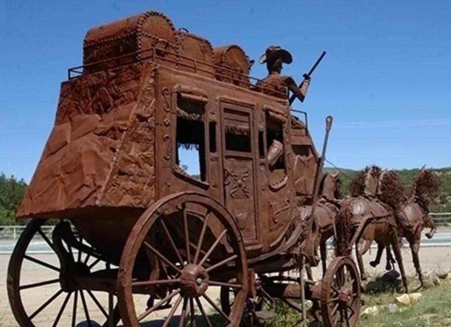 Cowboy Wildlife Shop For Rustic Steel Big Game Statues