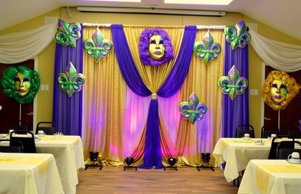 Masquerade Backdrop