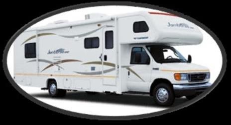 Propane service for RV's with built in propane tank