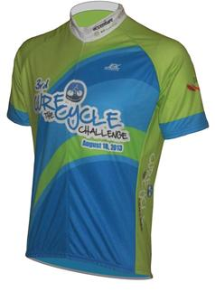cure the cycle bicycle jersey