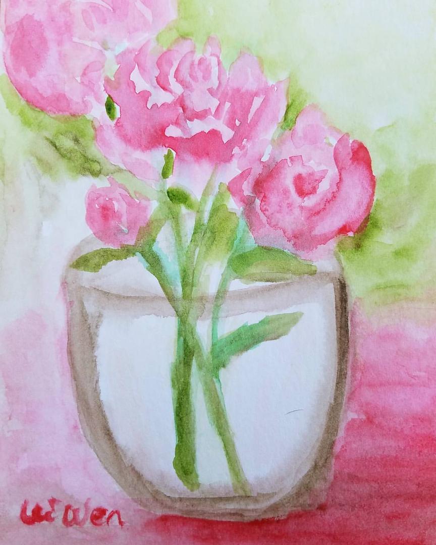 Original watercolor art for sale - Original Watercolor Art For Sale 57