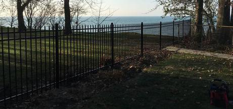 Ornamental Fence by Willoughby Fence