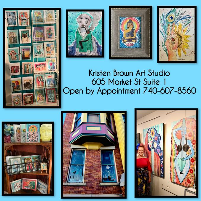 Kristen Brown Art Studio