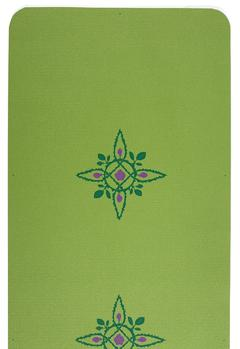Island Compass Rose Two-Color Yoga Mat