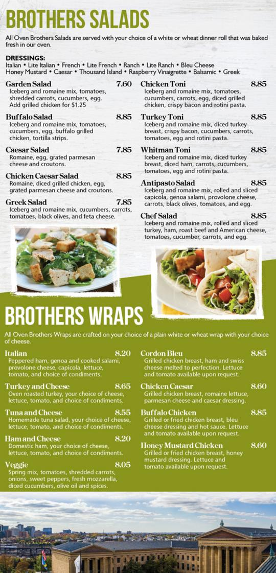 Oven Brothers Menu Page2