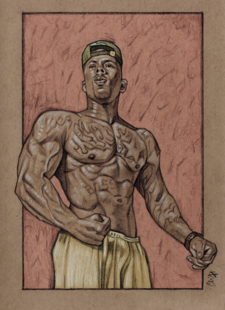 Veteran Aaron D. Harris aka Dirty Champion by Cliff Carson