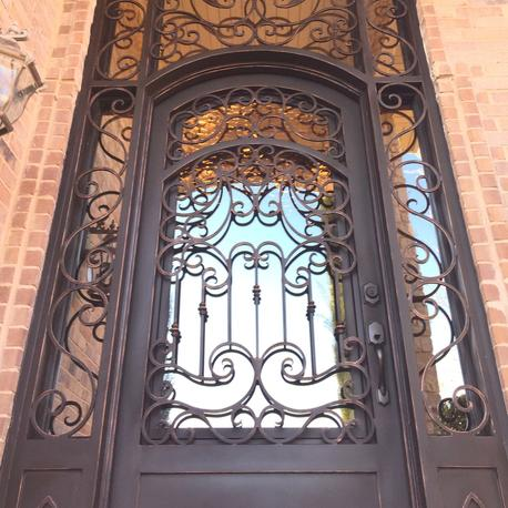 The Iron Snail Inc Wrought Iron Doors Iron Gates Iron Front Doors