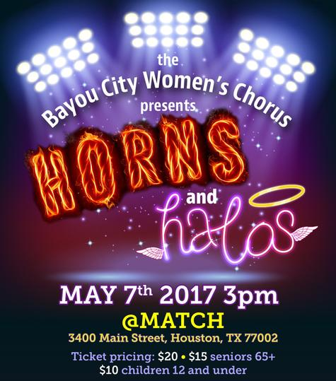 Tickets for Horns and Halos Bayou City Women's Chorus