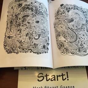 Mazes, Adult Coloring Book, Contemporary Artwork, Drawing, Illustration