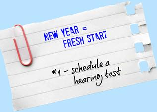 Schedule a hearing test