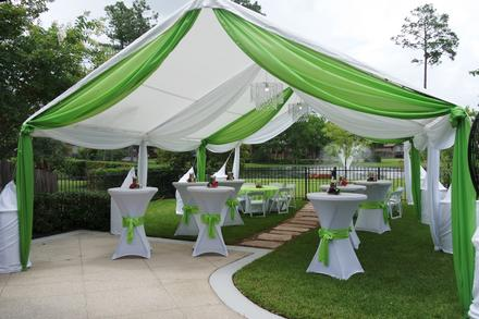 Tents for Outdoor party tent decorating ideas
