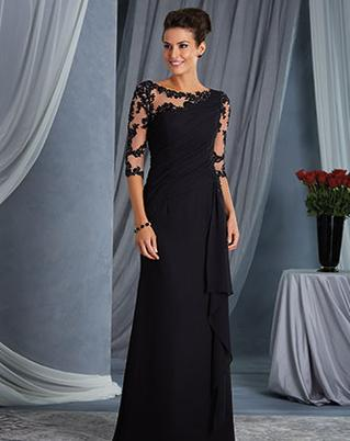 The Wedding Parlour carries the Alfred Angelo mother gown and special occasion line of dresses.