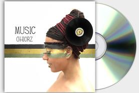 MUSIC GHIORZ COVER CD COPERTINA REGGAE RISING TIME DESIGN PROJECT DESIGN107
