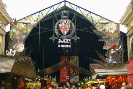 Barcelona Food market tour Boqueria