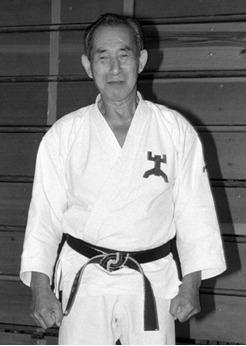 Sensei Tomuharu Kisaki