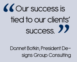 Designs Group Marketing: Our Success is Tied to Our Client's Success