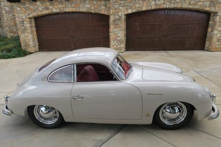 1955 Porsche 356/1500 Super pre-A Continental Reutter Coupe Sunroof Model Race Car for sale at Motor Car Company in San Diego California