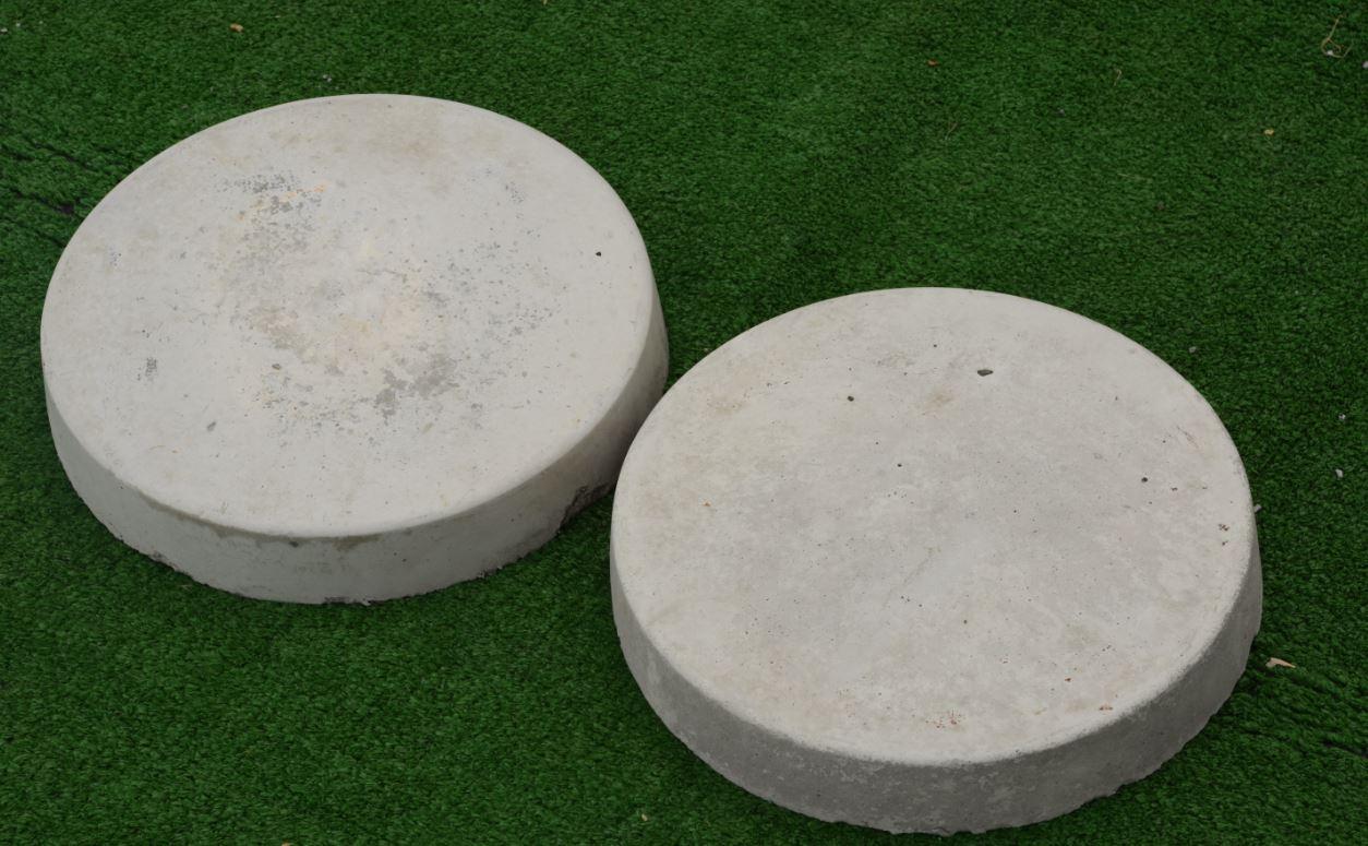 12 Inch Round Patio Stone - Patio Stones