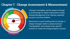 change, assessment, measurement
