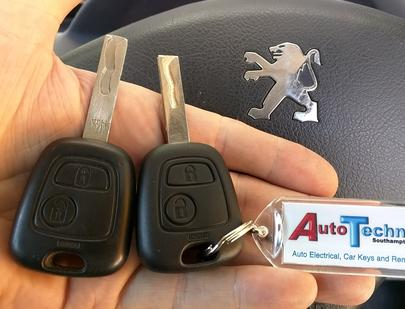 Replacement Peugeot car keys