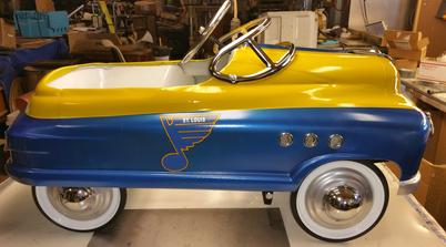 Customized Speedway Motors Comet Pedal Car