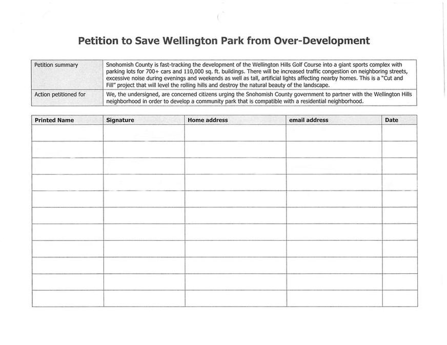 Community Petitions