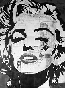 Marilyn Monroe Fascination Print