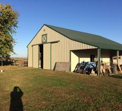 pole barns have rotten posts post frame building standards