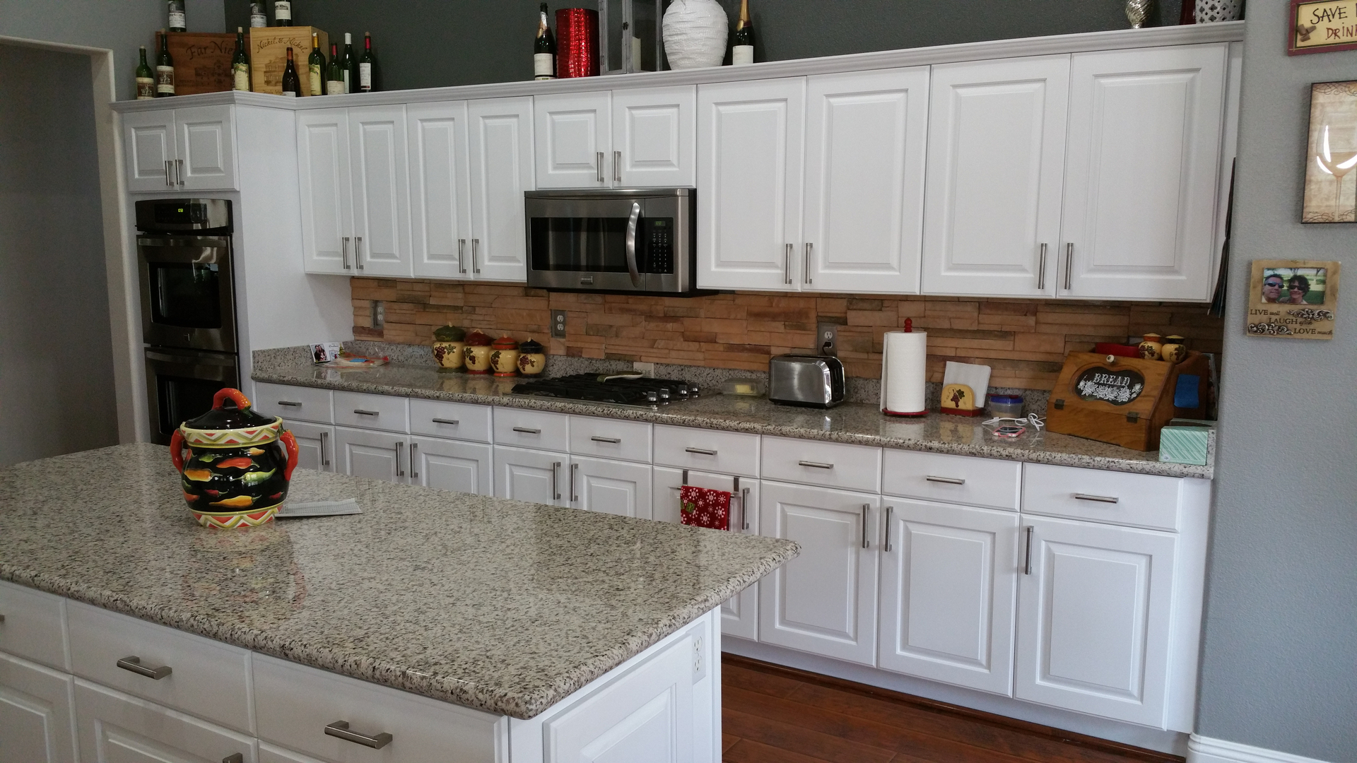 kitchen cabinets, wood finishing - abasta interiors - las vegas, nv