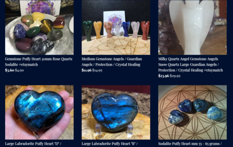 Incense Sage Crystals Rocks Minerals Specimens Candles Books
