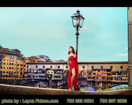 Florence Quinceanera Photography puente vecchio Ponte Vecchio Firenze Quince Photo Shoot in Florence Italy Quince Video Florence Quinces Dresses in Florence Fotos de Quince en Florencia Italia Fotografo para Quinceanera Vestidos de 15 Fifteens Pictures Sweet 16 15 Quince Photographer in Florence Italy