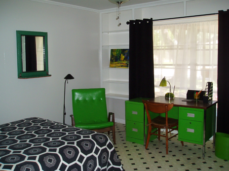 The 3rd bedroom at Blan's House, a furnished, short-term, 3-bedroom corporate-rental house in Victoria TX