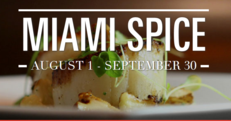 Miami Events; Miami Spice; Restaurant food at reduced prices; 3 course meals; signature dishes; Lunch; Brunch ; Dinner