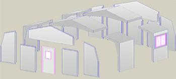 Drawing Showing RM Products modular Design