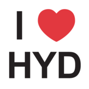 I Love Hyderabad Sticker