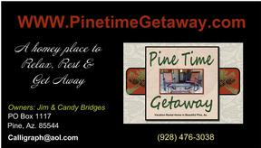 Pine Time Getaway Vacation Rental Home