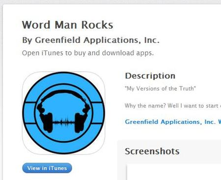 Word Man Rocks on The App Store