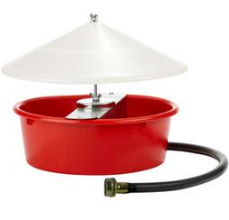 Auto Poultry Waterer with Cover